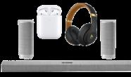 Dik geluid uit je nieuwe speakers & headphones - Coolblue black friday