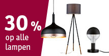 30% korting op alle lampen bij Paulmann - Paulmann black friday