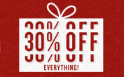 30% korting op alle kleding - America Today black friday