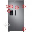 Samsung Amerikaanse frigo of French Doors koelkast - vanden borre black friday