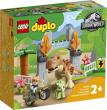 LEGO DUPLO T-Rex en Triceratops Dinosaurus Ontsnapping - bol.com black friday